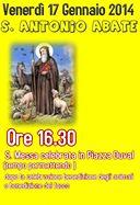 Celebrazione in onore di Sant'Antonio Abate